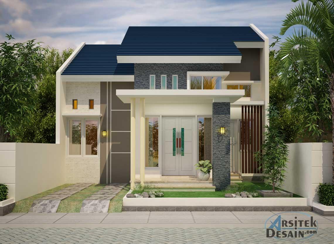 44 Desain Rumah 1 Lantai Lebar 8 Meter Terbaru Lingkar Png